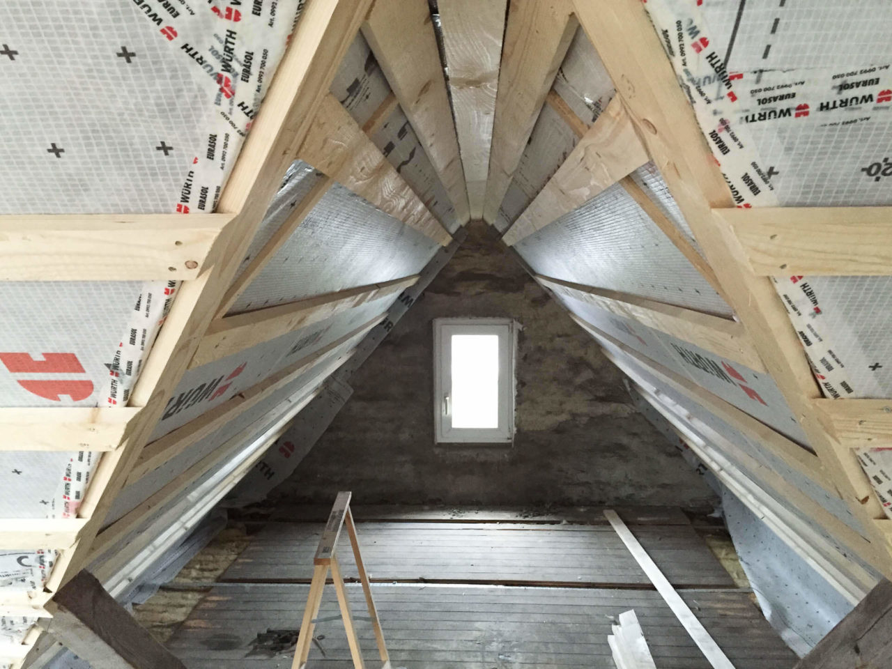 Foto Pablo Baugestaltung zeigt den Giebel des Umbaus Hamburg Francop