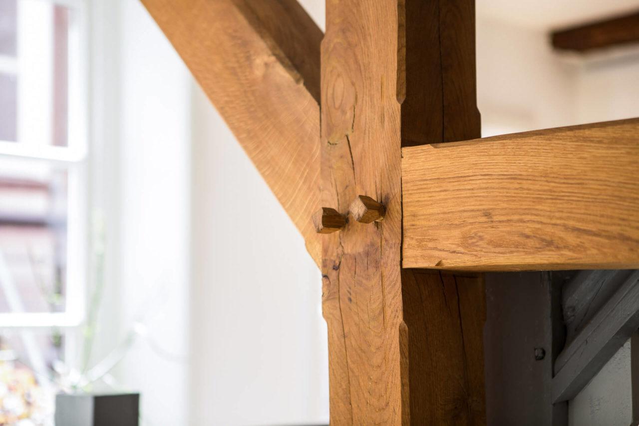 Foto Fachwerkhaus Lüneburg von Ryan Baugestaltung wundervolle Holzbalken